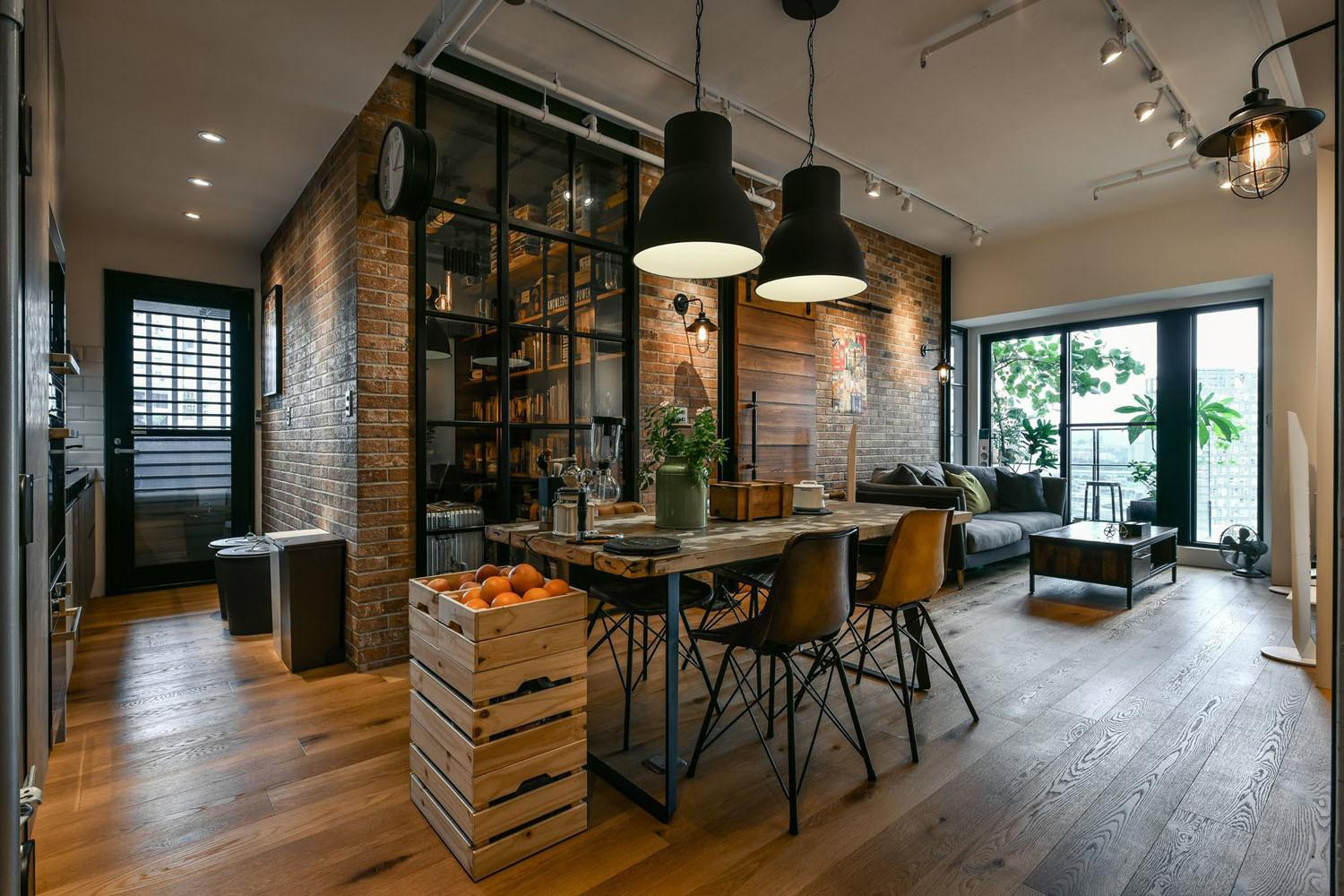 Charming Industrial Loft New Taipei City Idesignarch