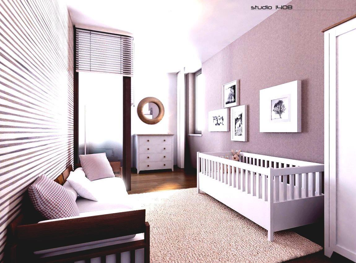 Charming Modern Baby Boy Room Wooden Cabinets