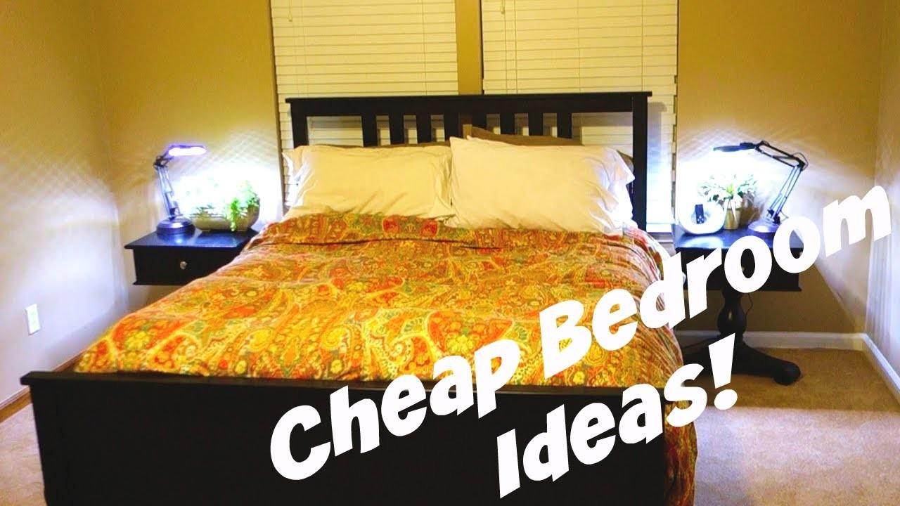 Cheap Bedroom Decorating Ideas Daily Vlog 478