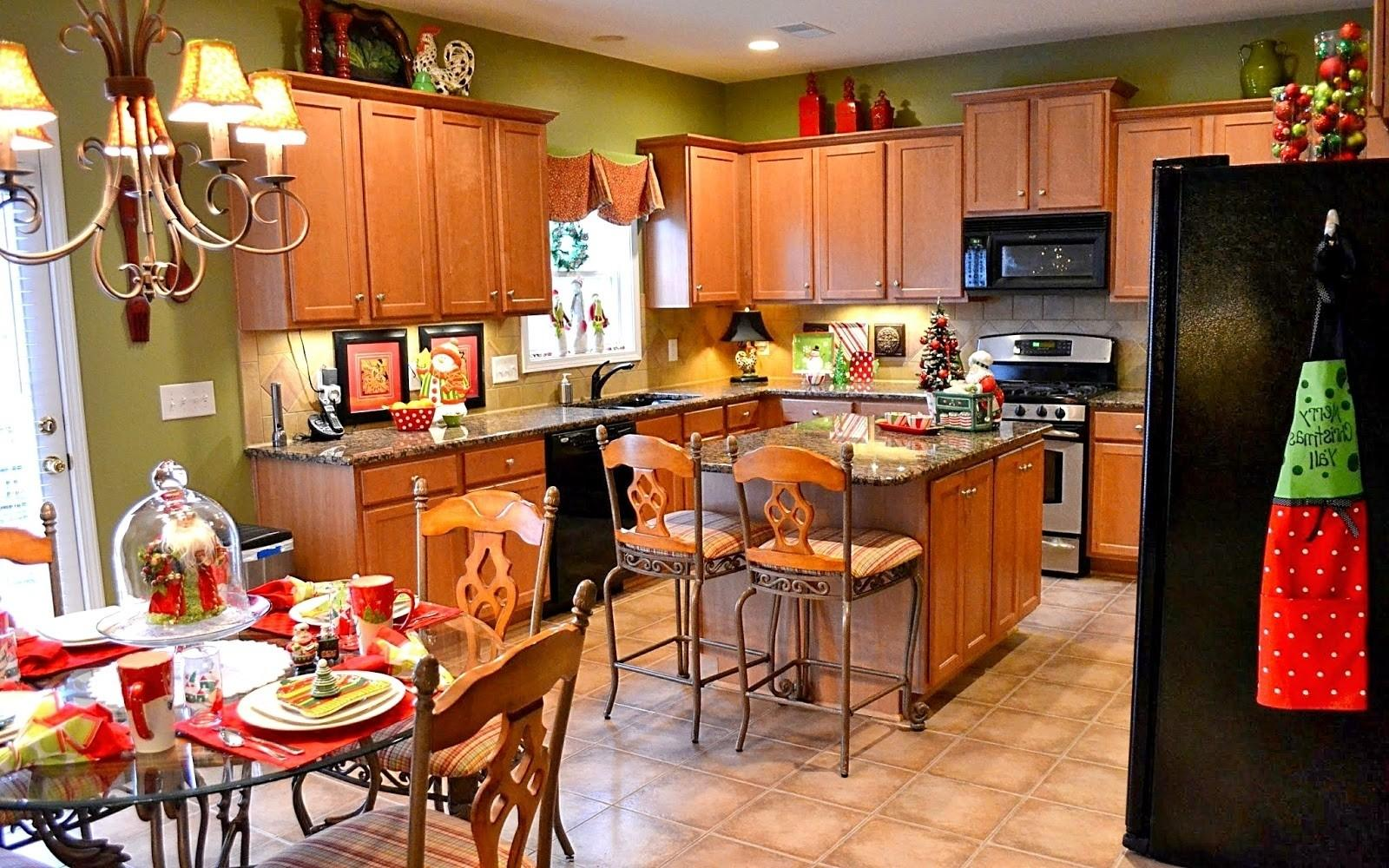 Cheap But Lovely Christmas Decorating Ideas Kitchen