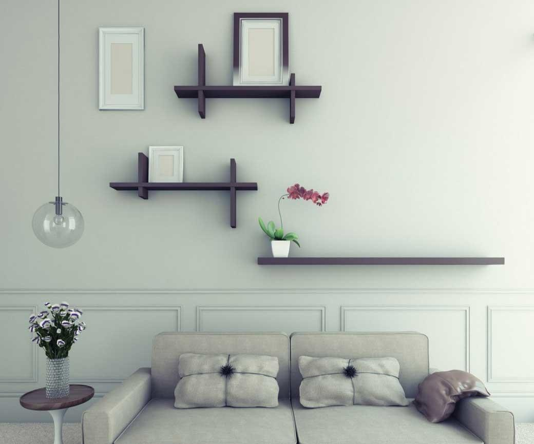 Cheap Decorating Ideas Living Room Walls Simple