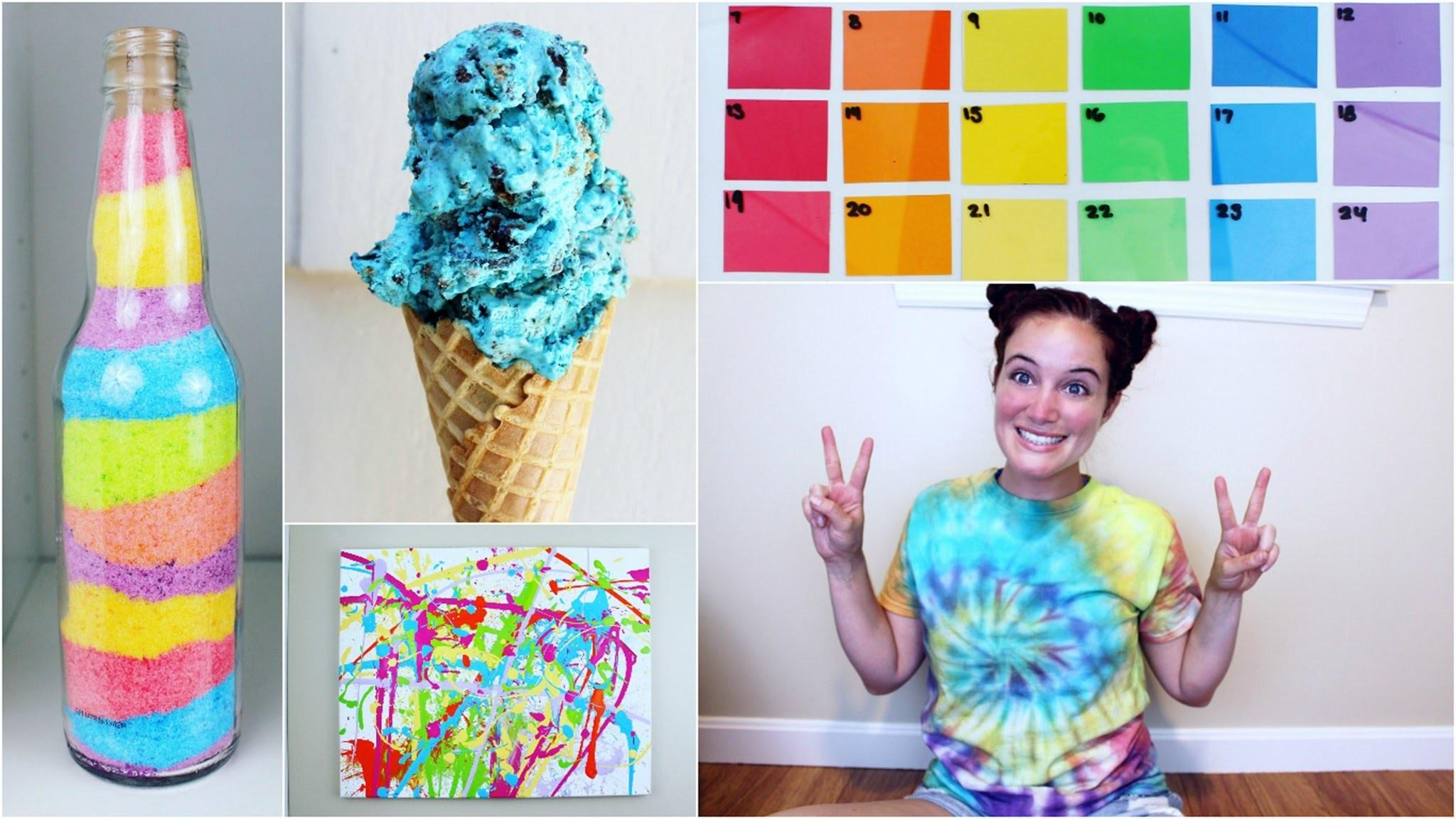 Cheap Easy Colorful Diy Summer Projects
