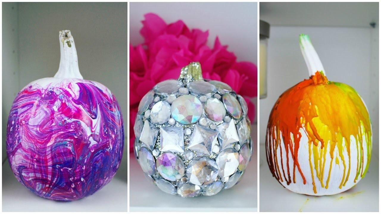Cheap Easy Diy Pumpkin Decorating Ideas