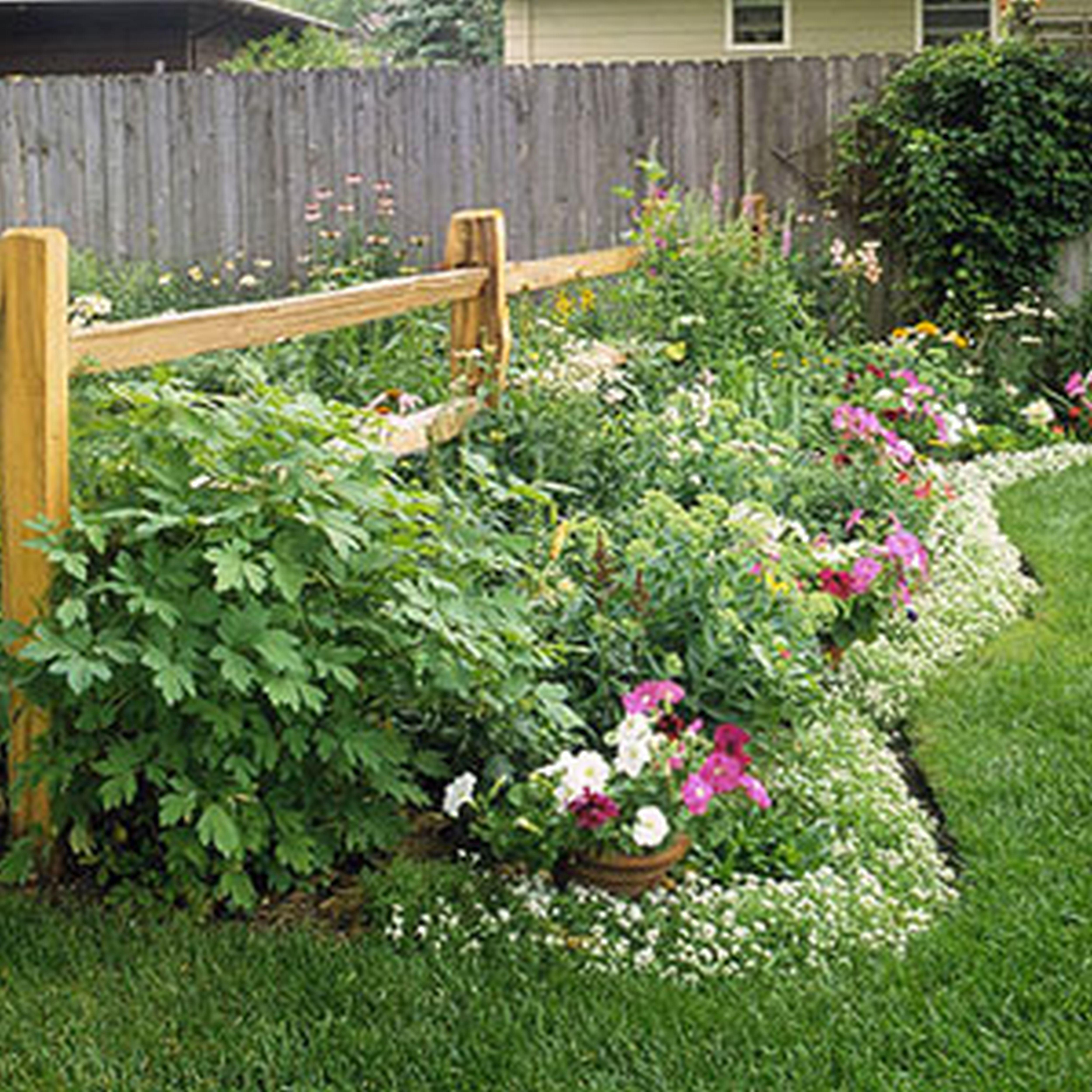 Cheap Garden Border Edging Ideas Cadagu Lawn Design Idea