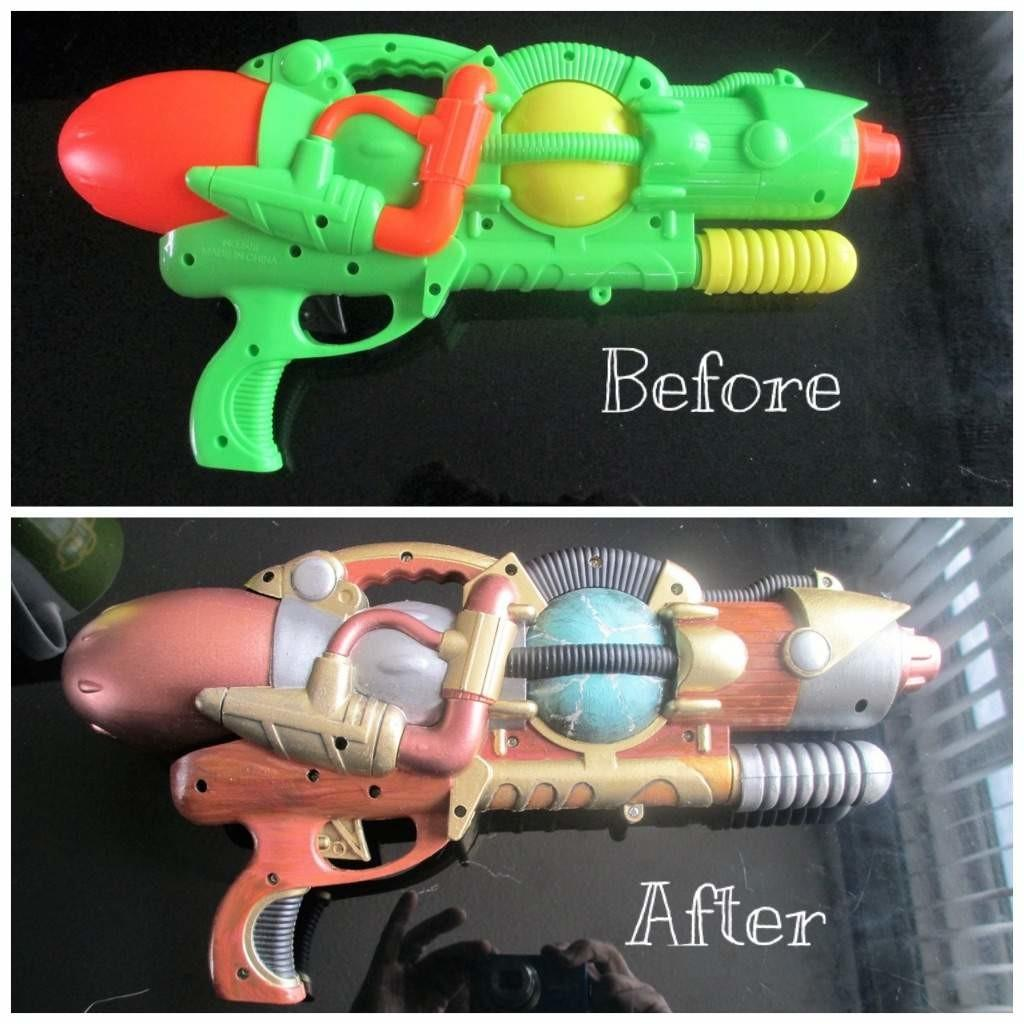 Cheap Steampunk Gun Tutorial Cosplay Amino