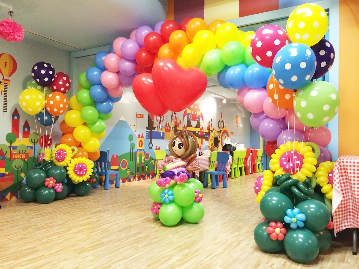 Cheapest Balloon Decorations Birthday Party