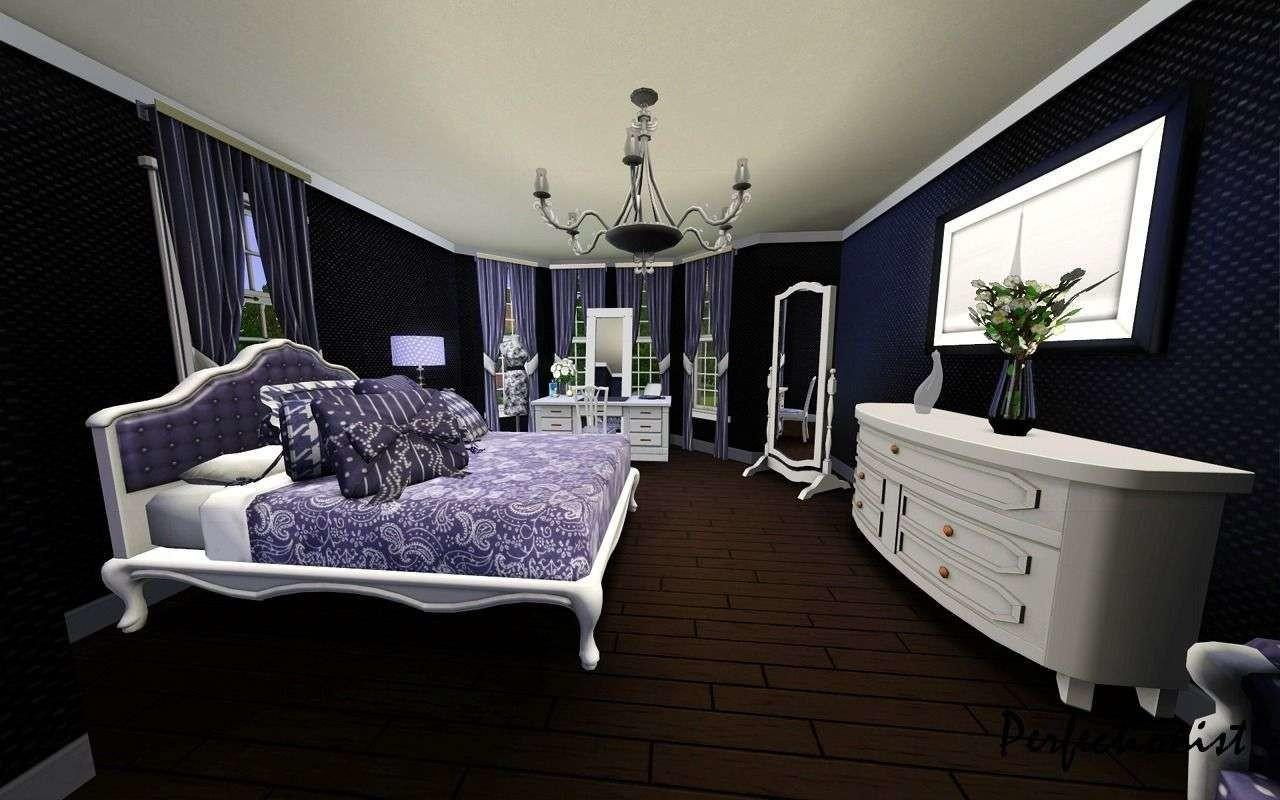 Check Out Designs White Black Purple Bedrooms