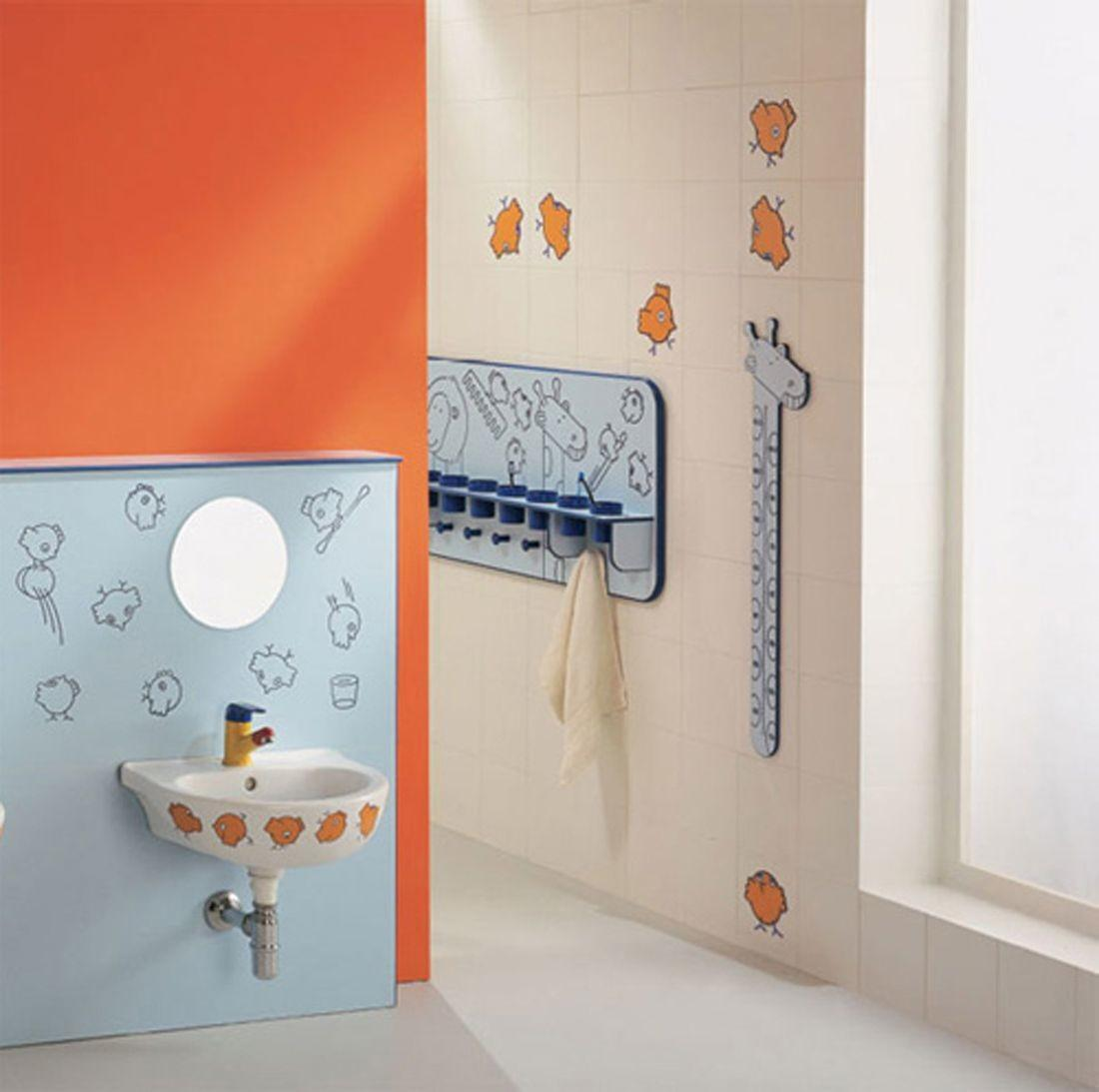 Cheerful Friendly Bathroom Ideas Kids Amaza Design