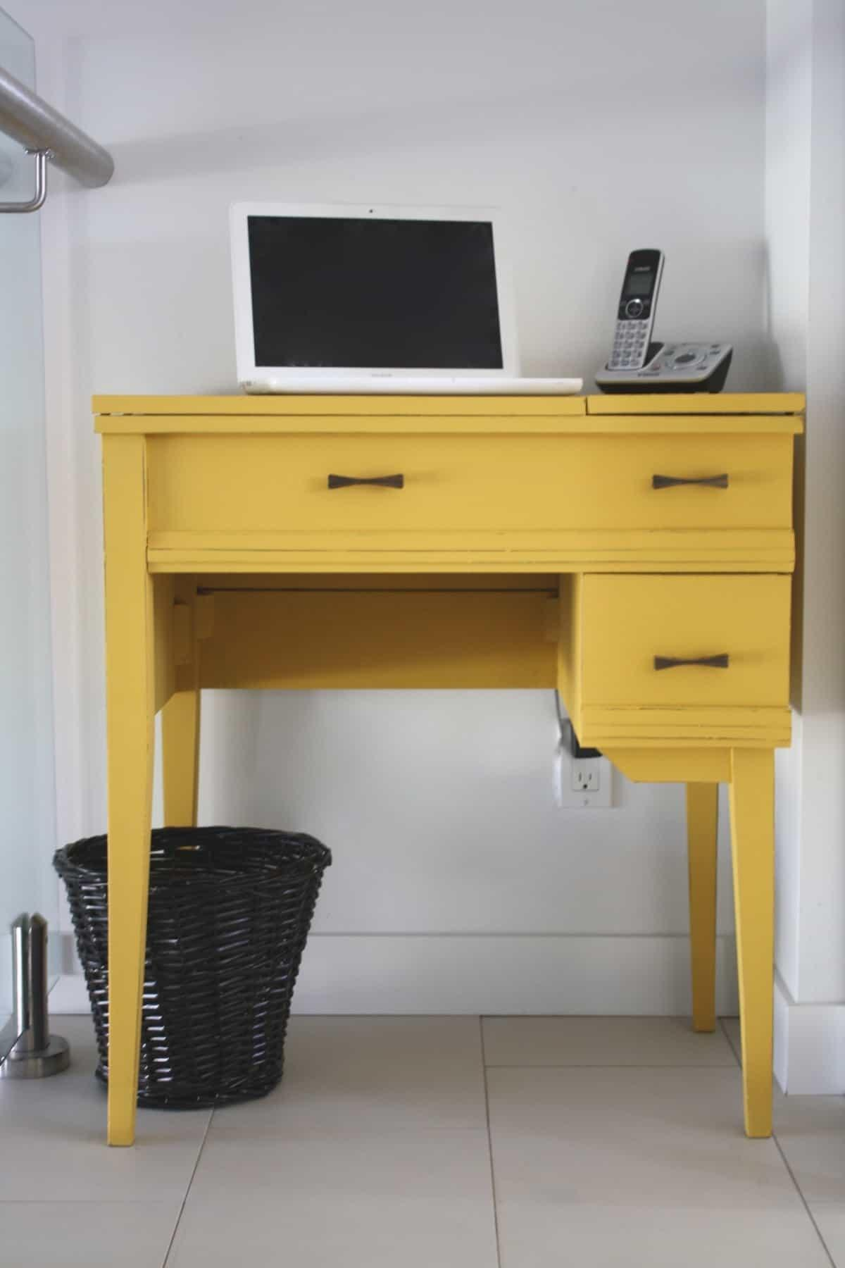 Cheerful Home Office Space Guest Post Country Chic