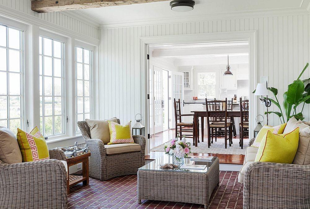 Cheerful Relaxing Beach Style Sunrooms