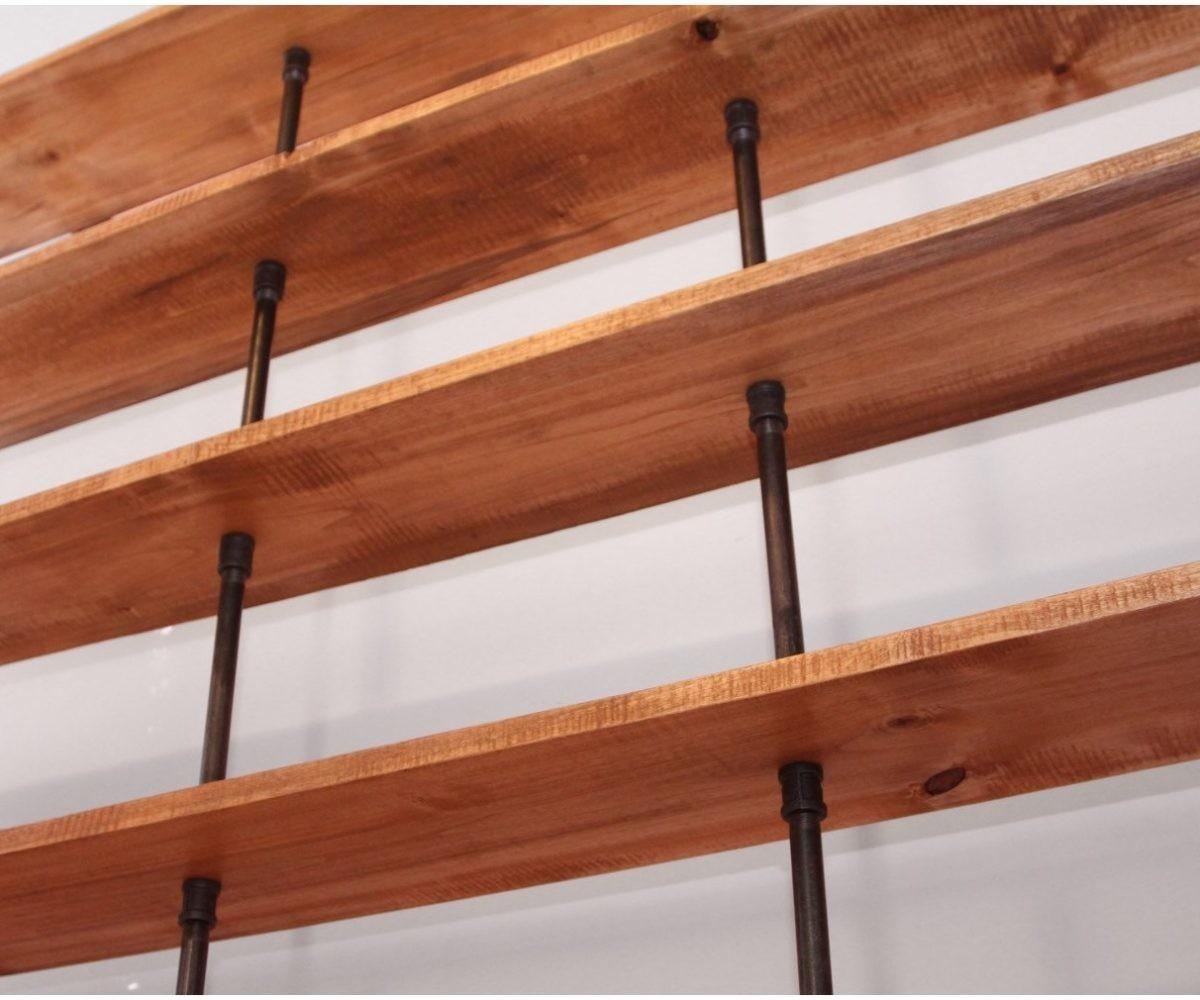 Cheery Remember Reclaimed Wood Floating Shelves Stacy