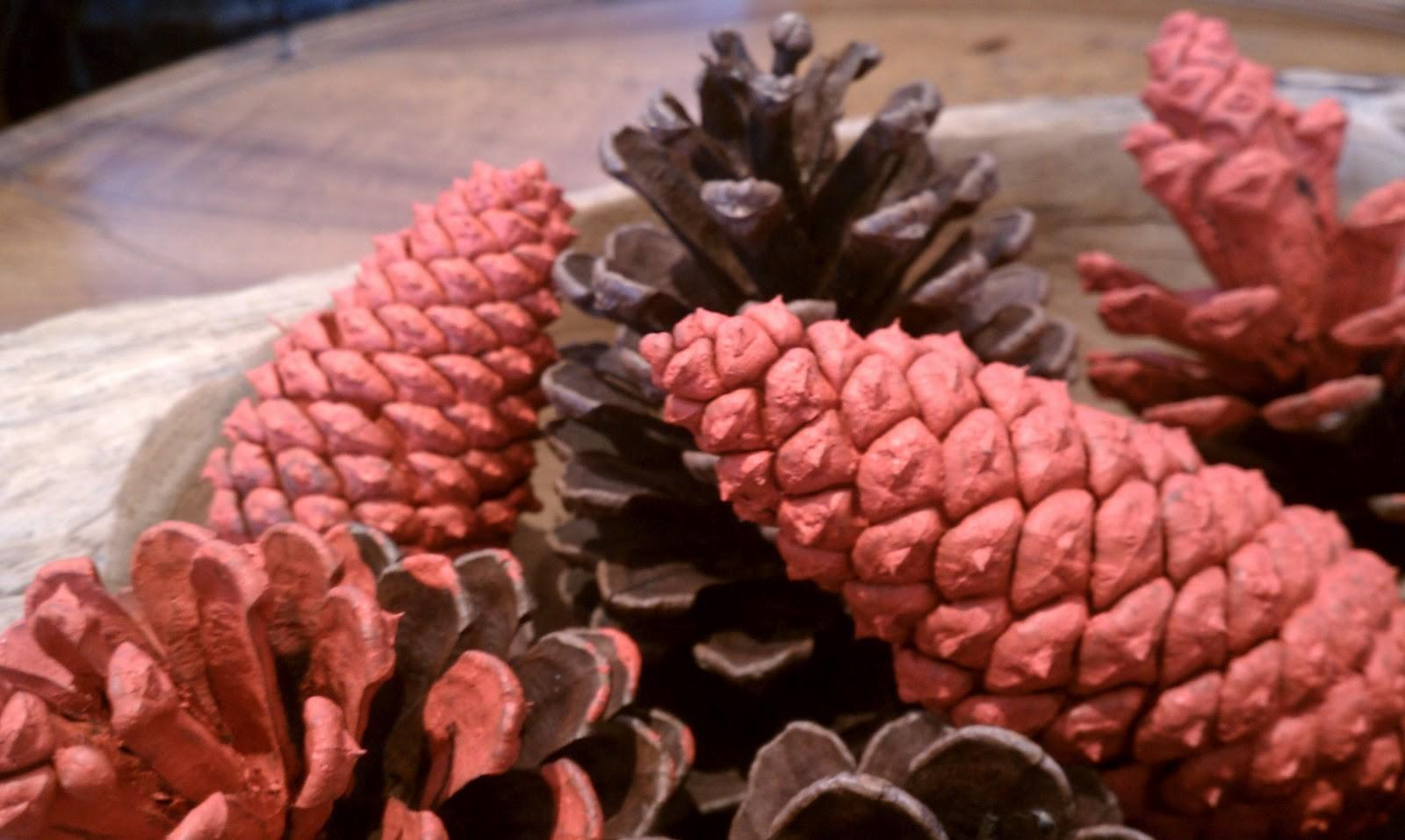 Chet Pourciau Design Diy Paint Dipped Pine Cones