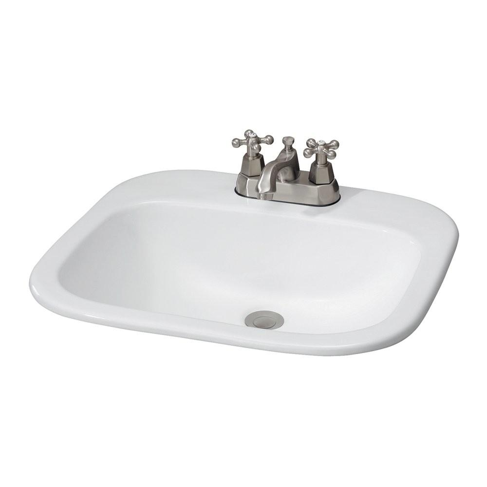 Cheviot 1108 Ibiza Drop Basin Self Rimming