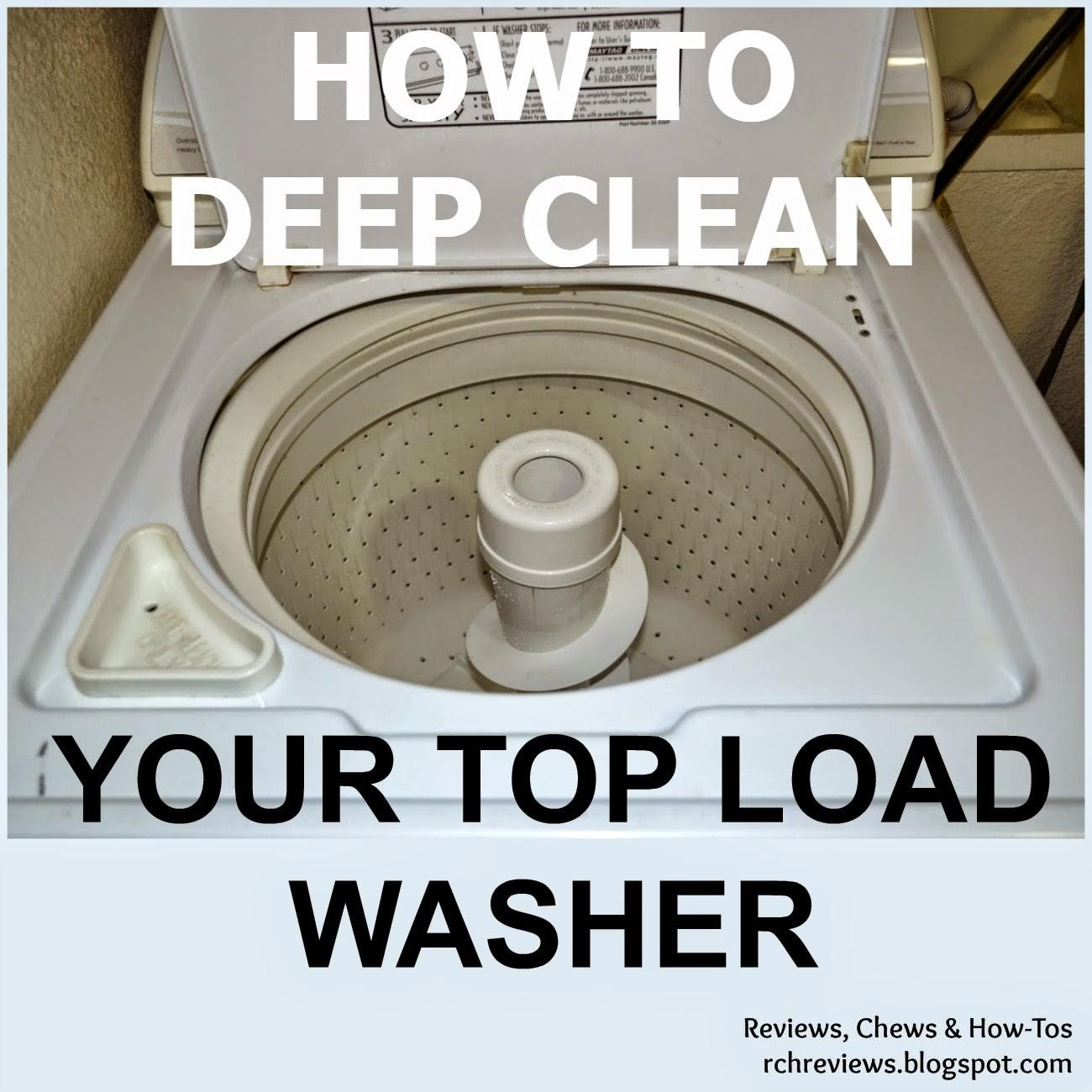 Chews Tos Deep Clean Top Loading