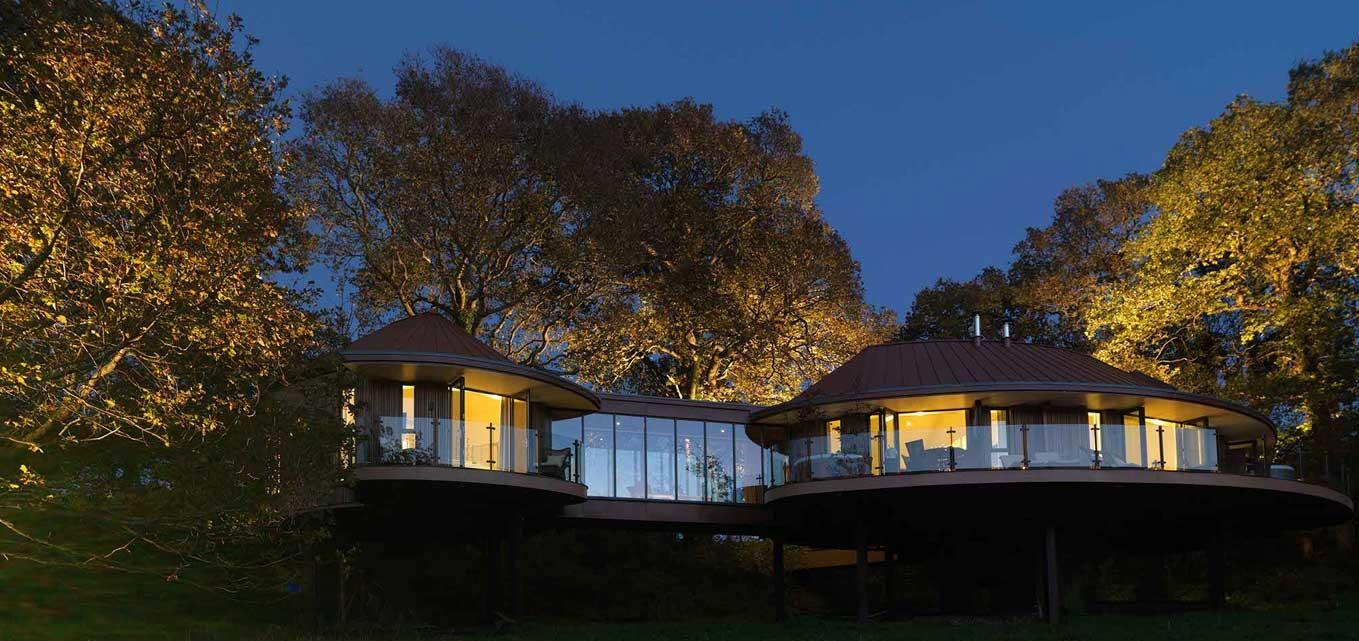 Chewton Glen Tree House Hampshire Mojomums