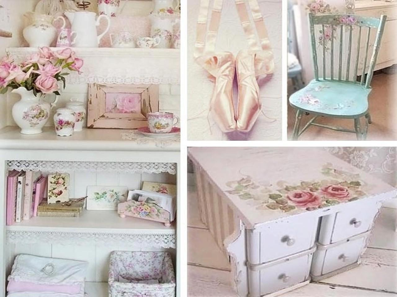 Chic Bedroom Shabby Home Decorating Ideas