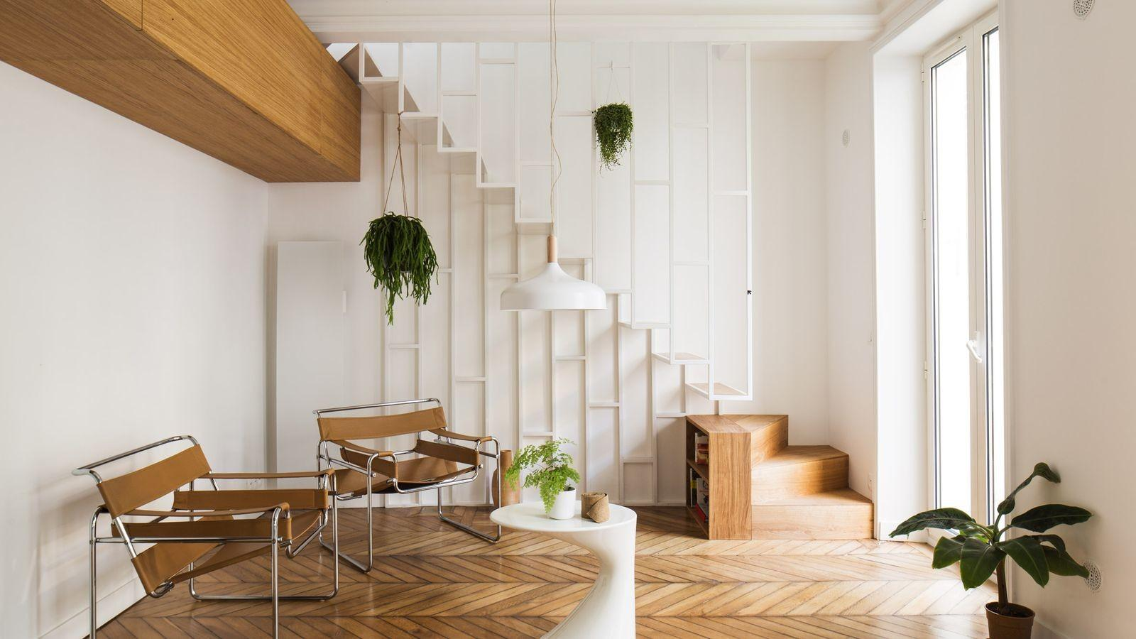 Chic Paris Apartment Offers Practical Small Space Ideas