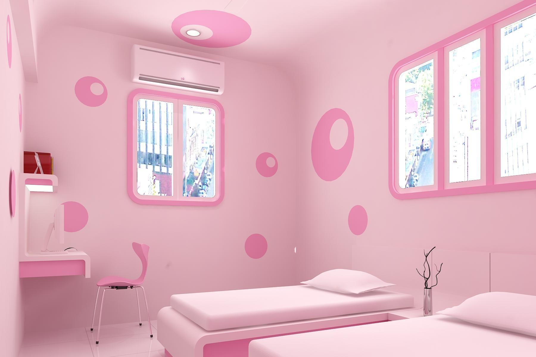 Chic Pink Bedroom Design Ideas Fashionable Girl