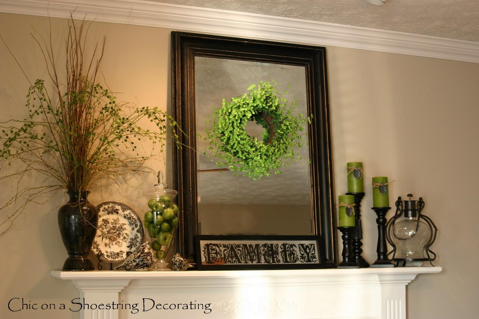 Chic Shoestring Decorating Adding Pops Spring