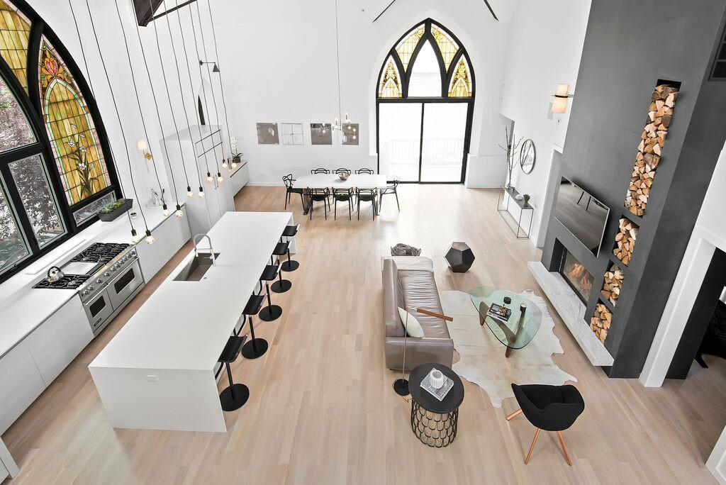 Chicago Church Converted Into Eclectic Contemporary