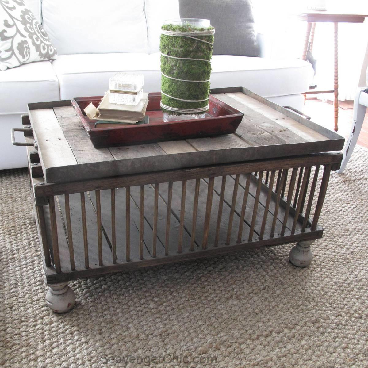 Chicken Coop Coffee Table Diy Scavenger Chic