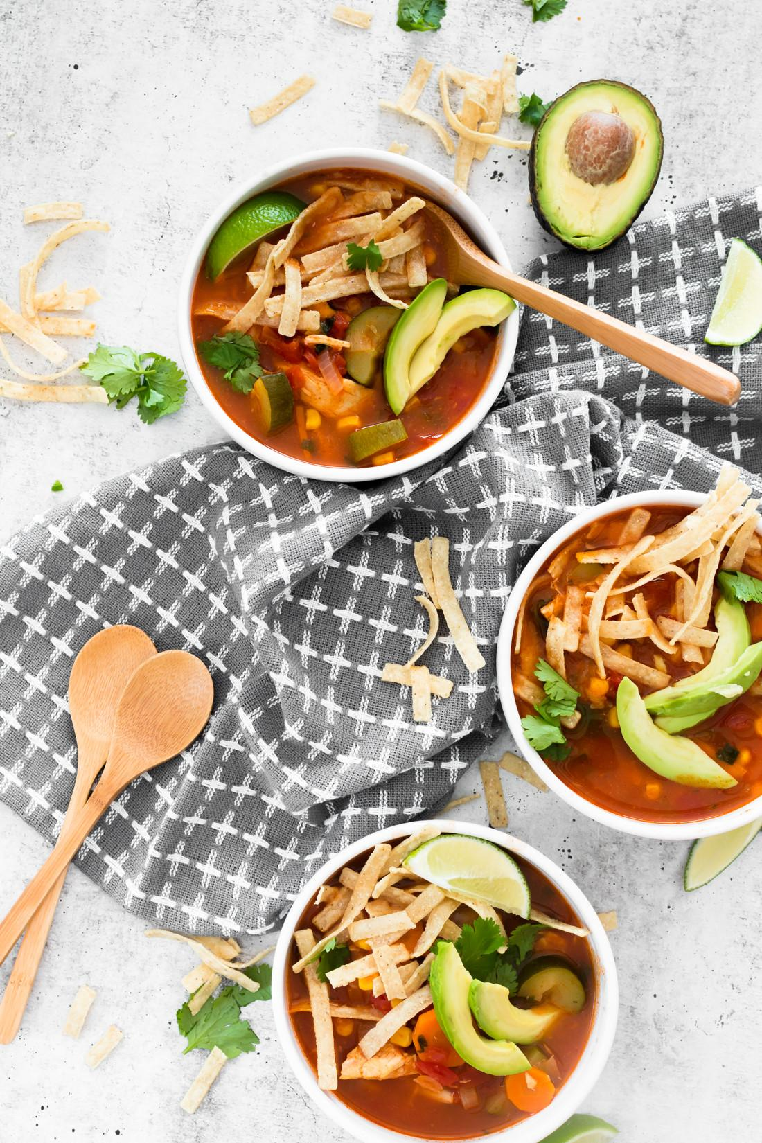 Chicken Tortilla Soup Delicioso