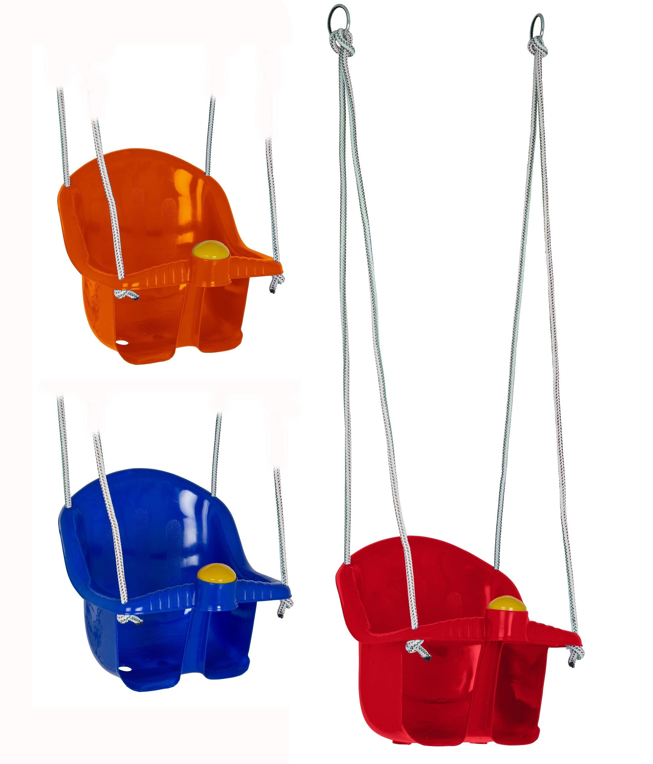 Childrens Plastic Rope Swing Seat Mounting