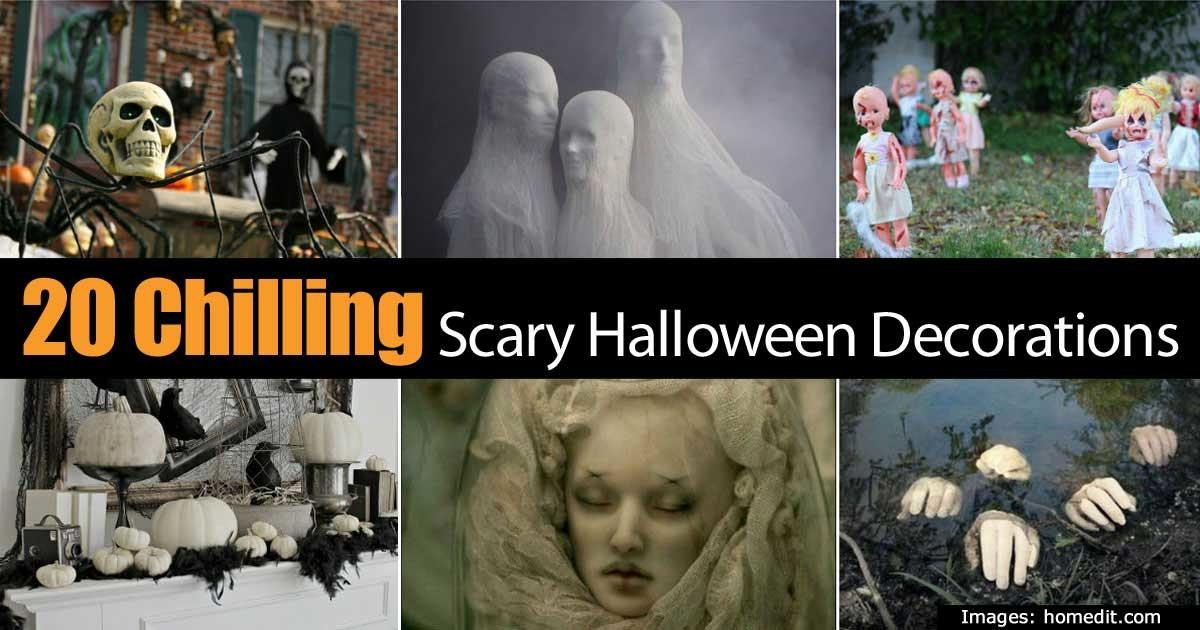 Chilling Scary Halloween Decorations Keep