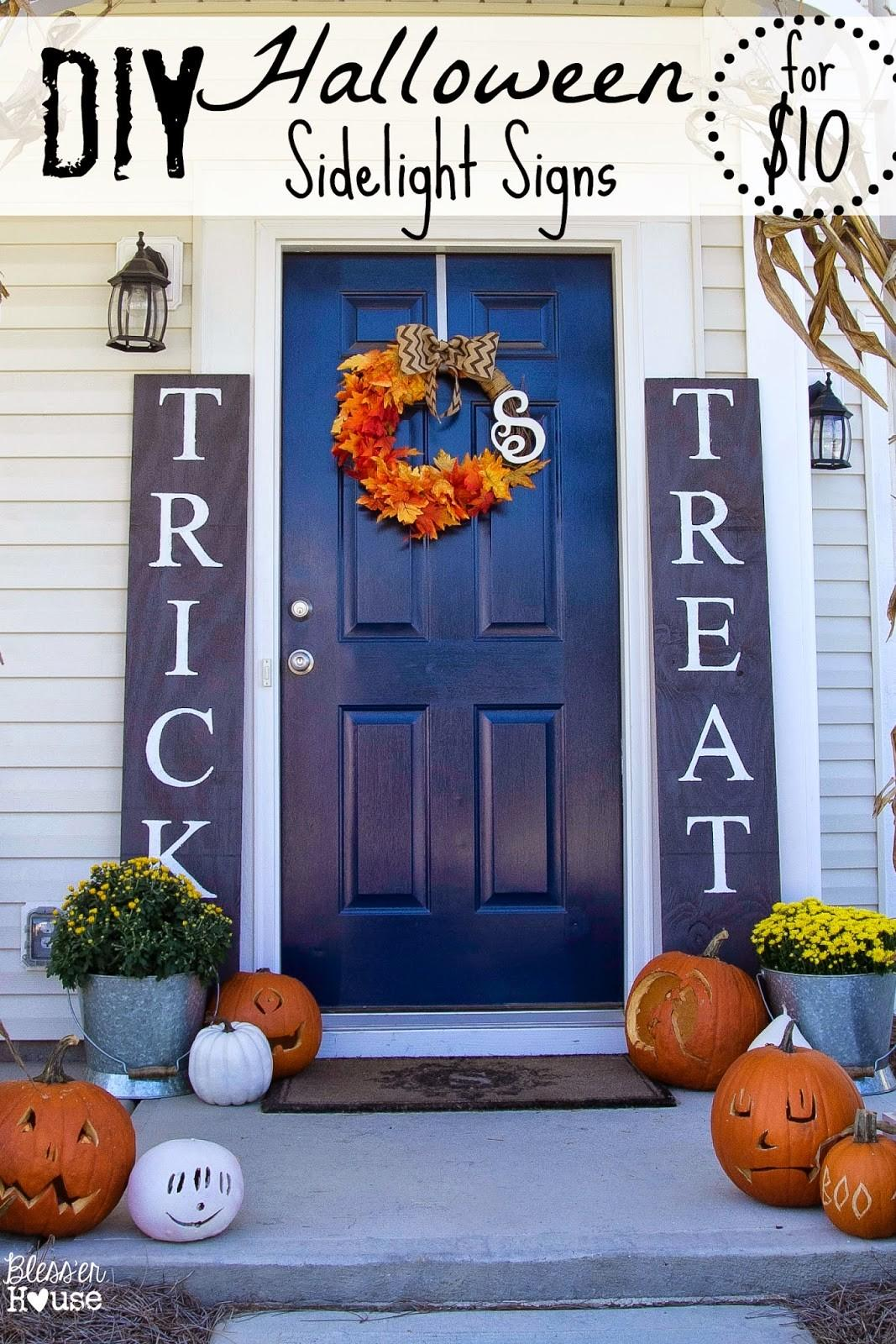 Chilling Thrilling Halloween Porch Decorations 2018