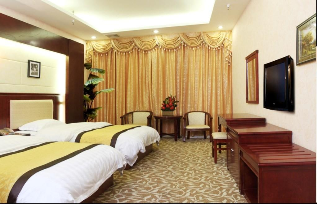 China Hotel Bedroom Furniture Luxury Double