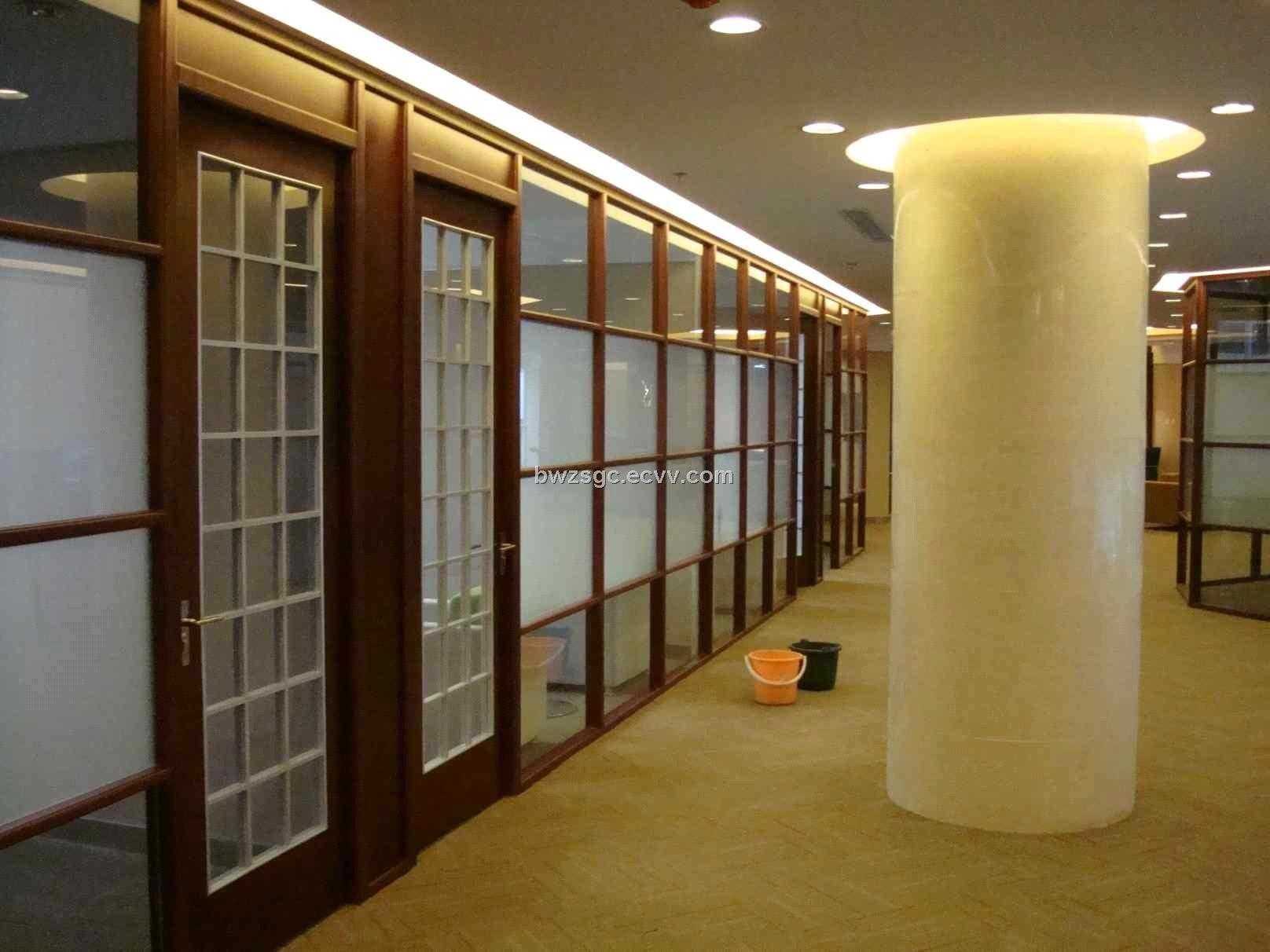 China Office Partition Aluminium Alloy Glass Room