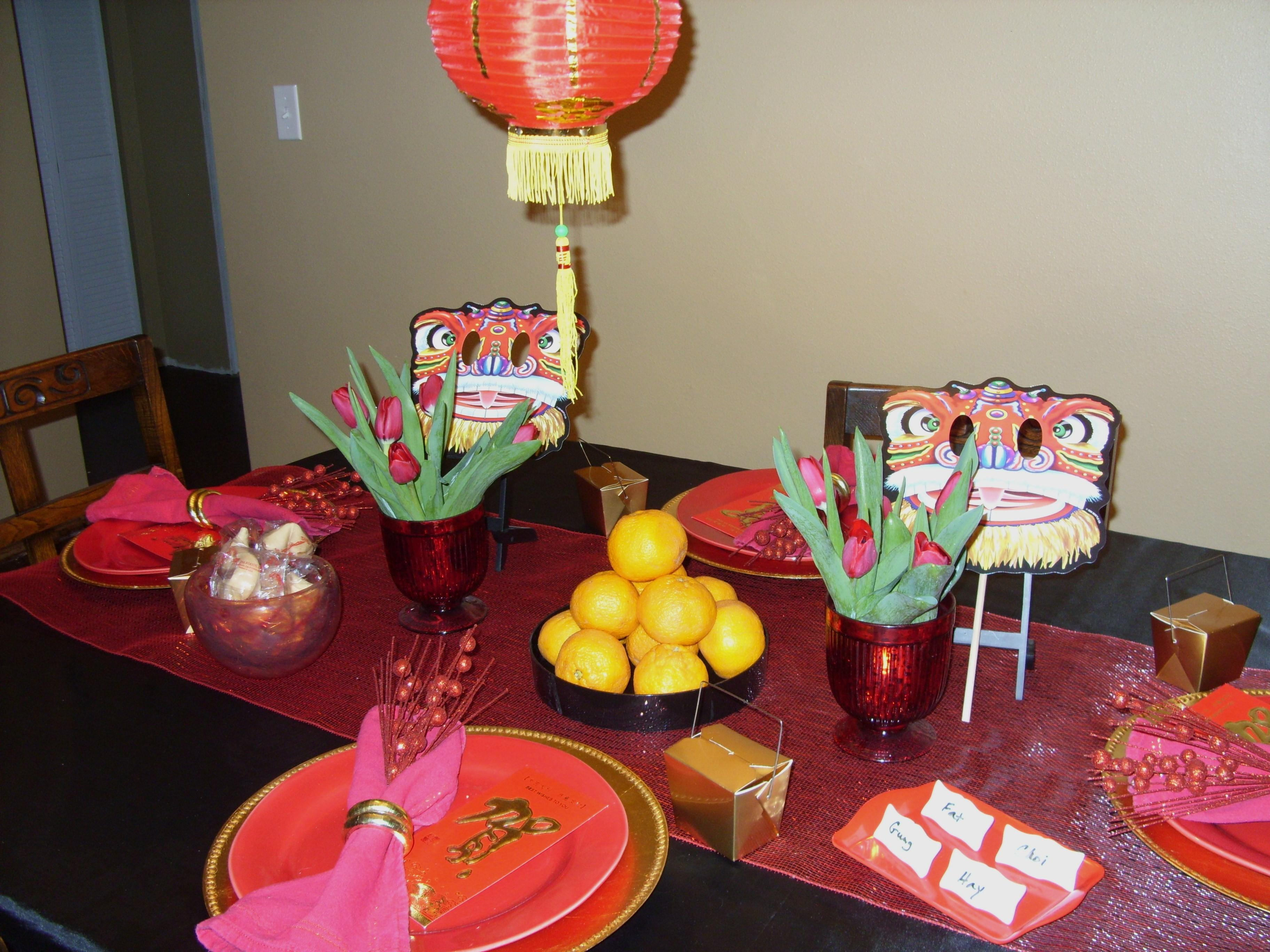 Chinese Decorations Your Friend New Year Party