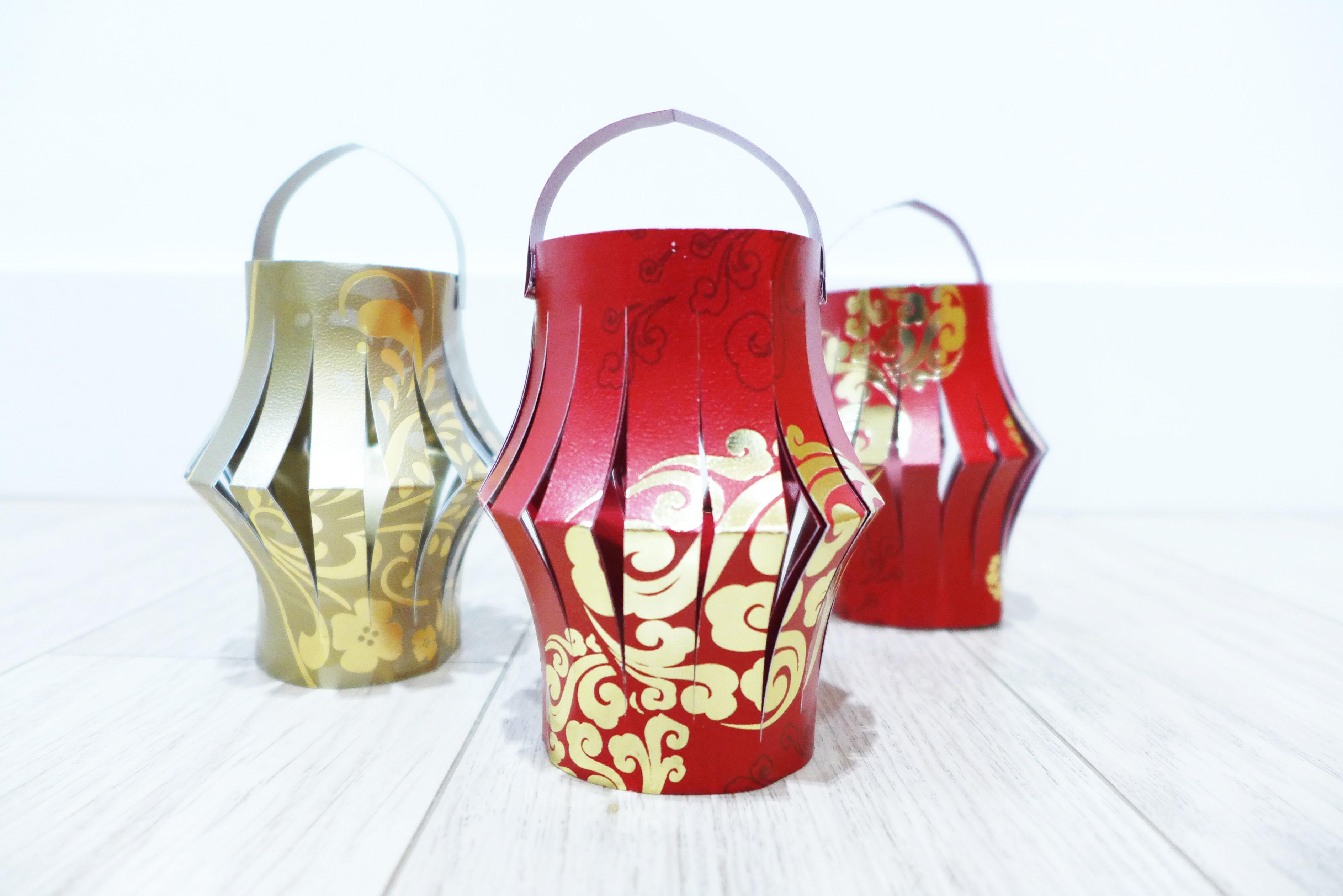 Chinese New Year Lai See Packet Lanterns