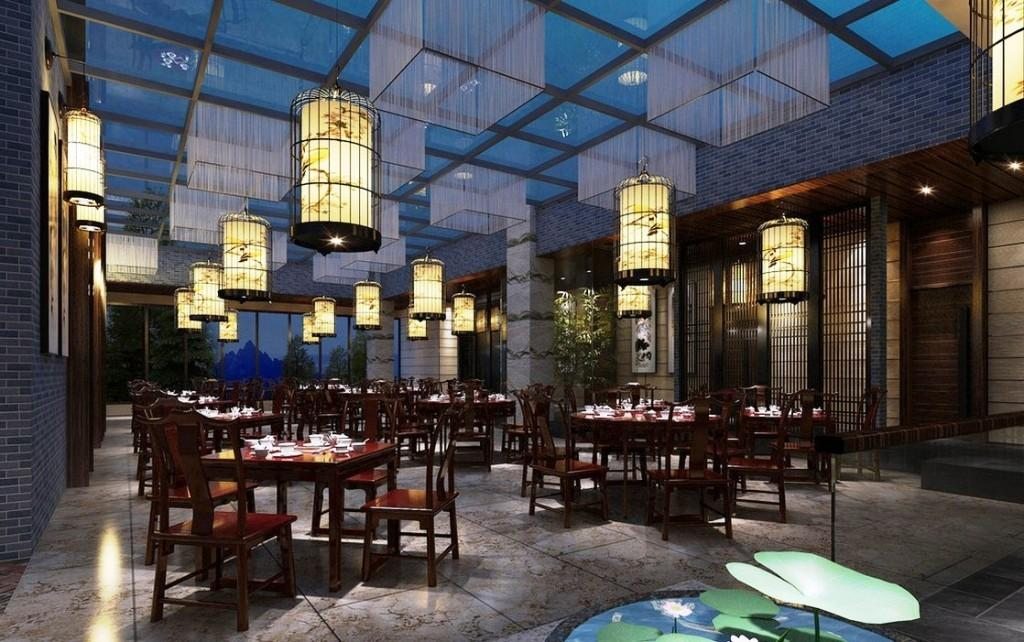 Chinese Restaurant Modern Interior Luxury