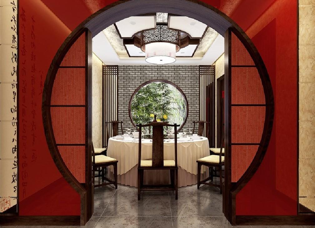Chinese Style Dining Room Design Model New Home
