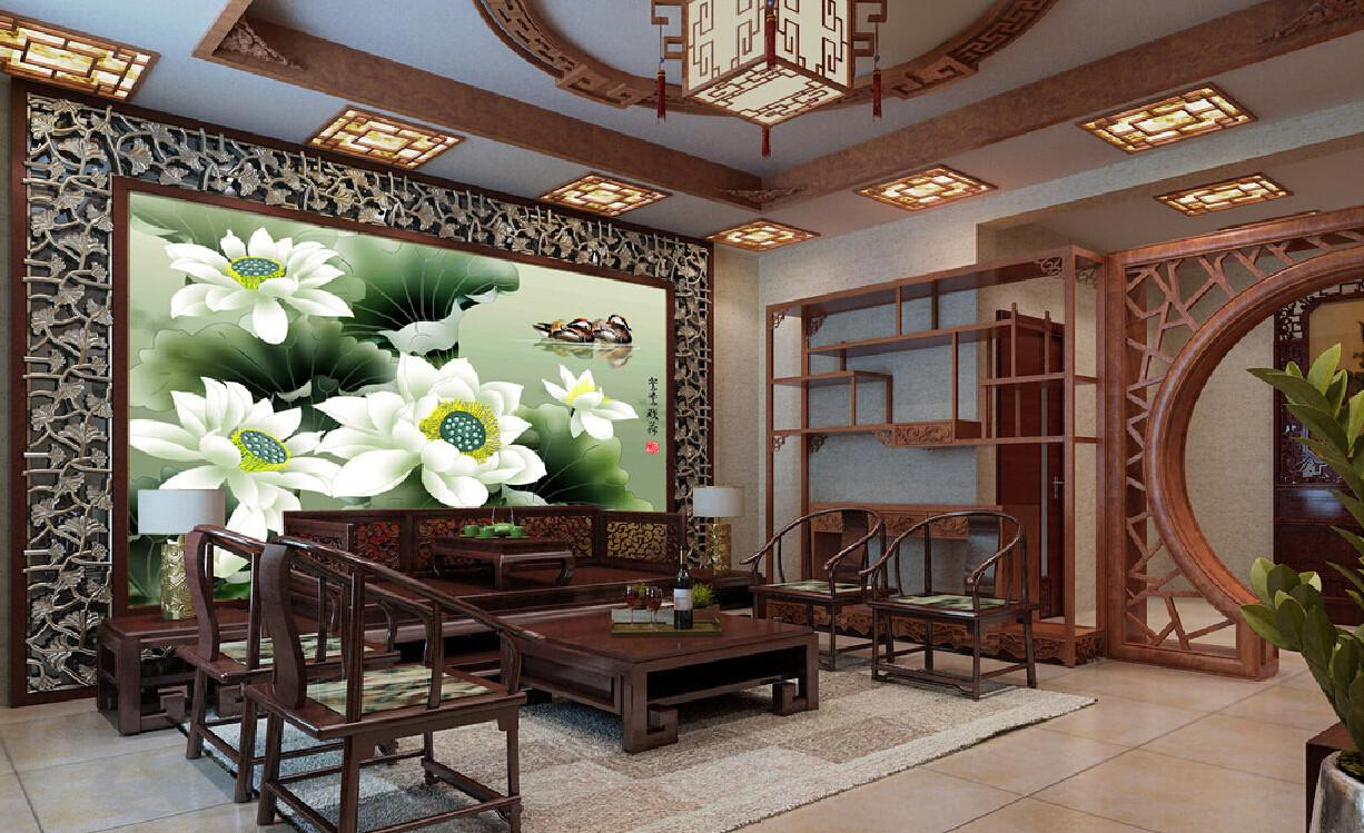 Chinese Style Interior Design Home