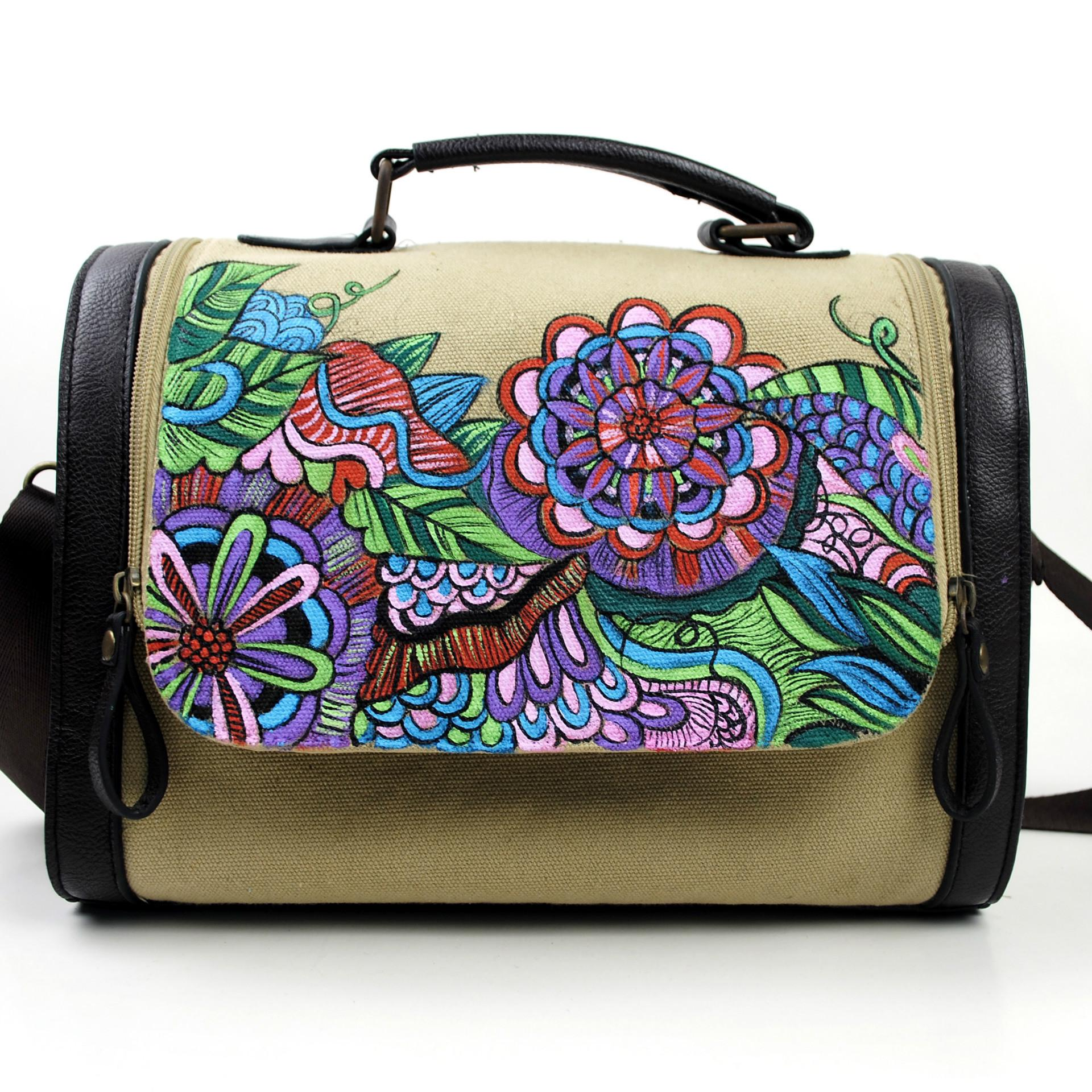 Chinese Yang Style Hand Painted Folk Package Year