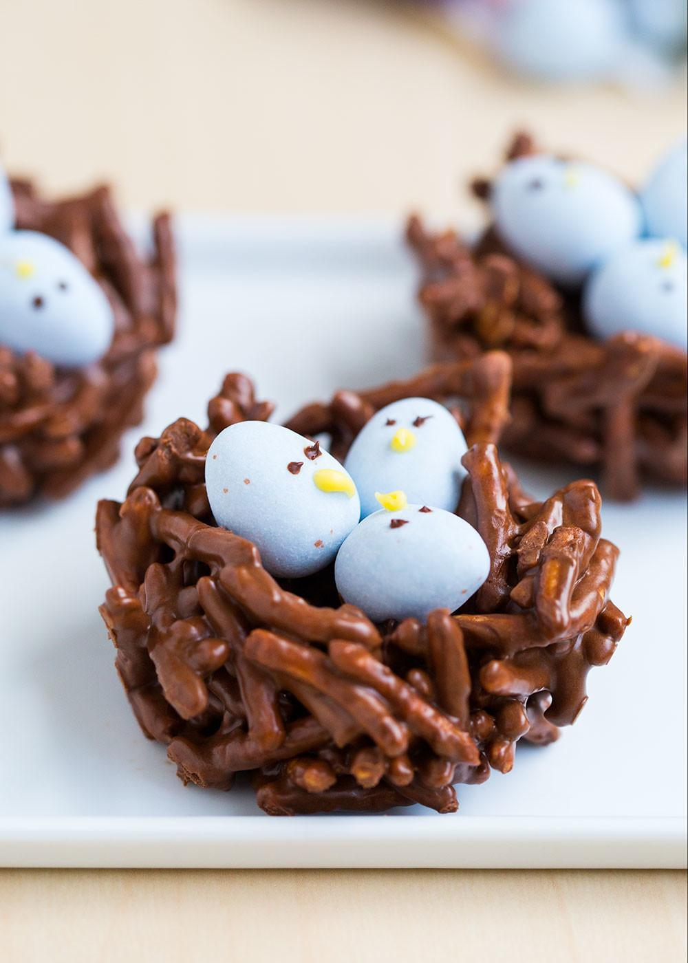 Chocolate Egg Nest Treats Heart Nap Time