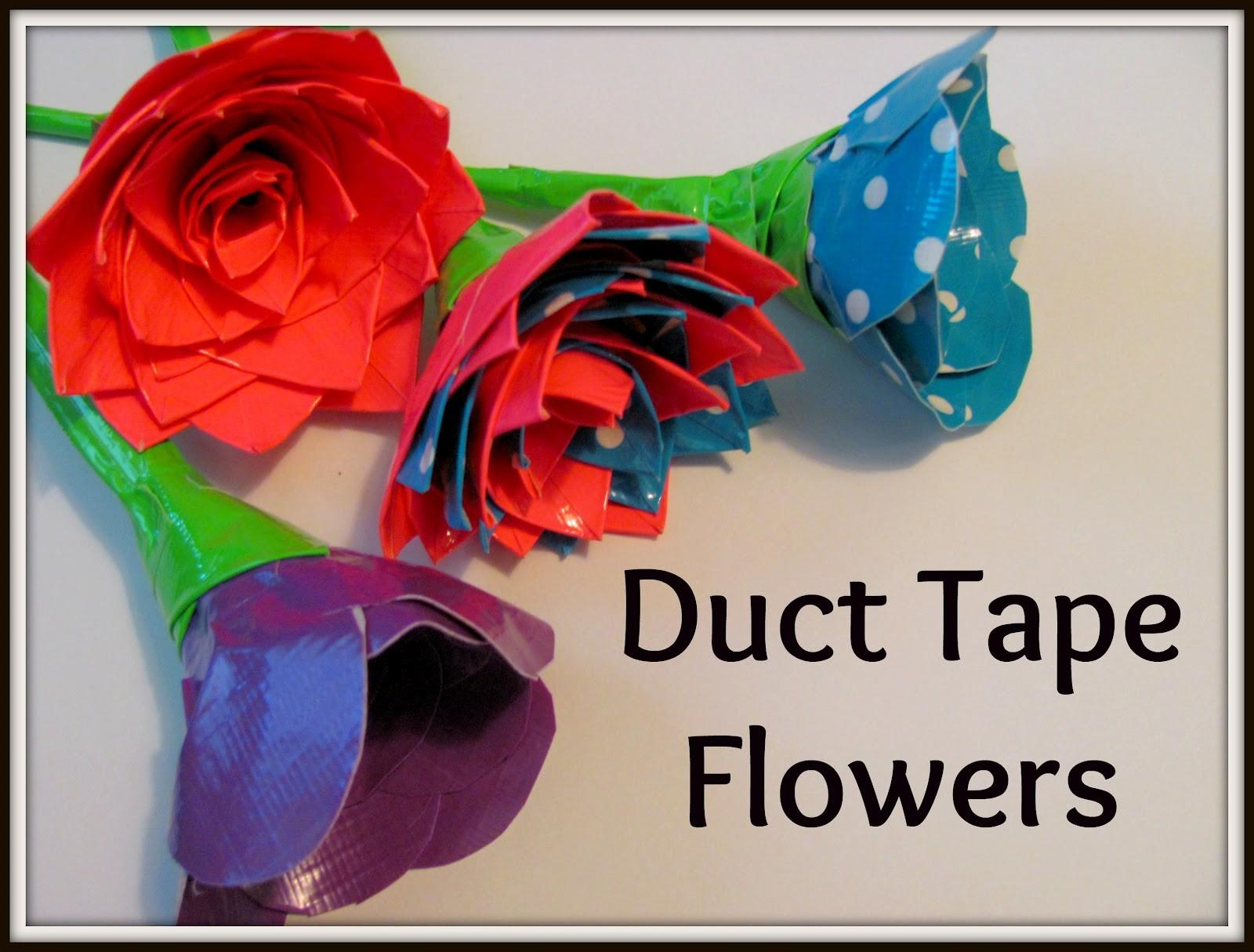 Chocolate Muffin Tree Duct Tape Flowers Inspiration