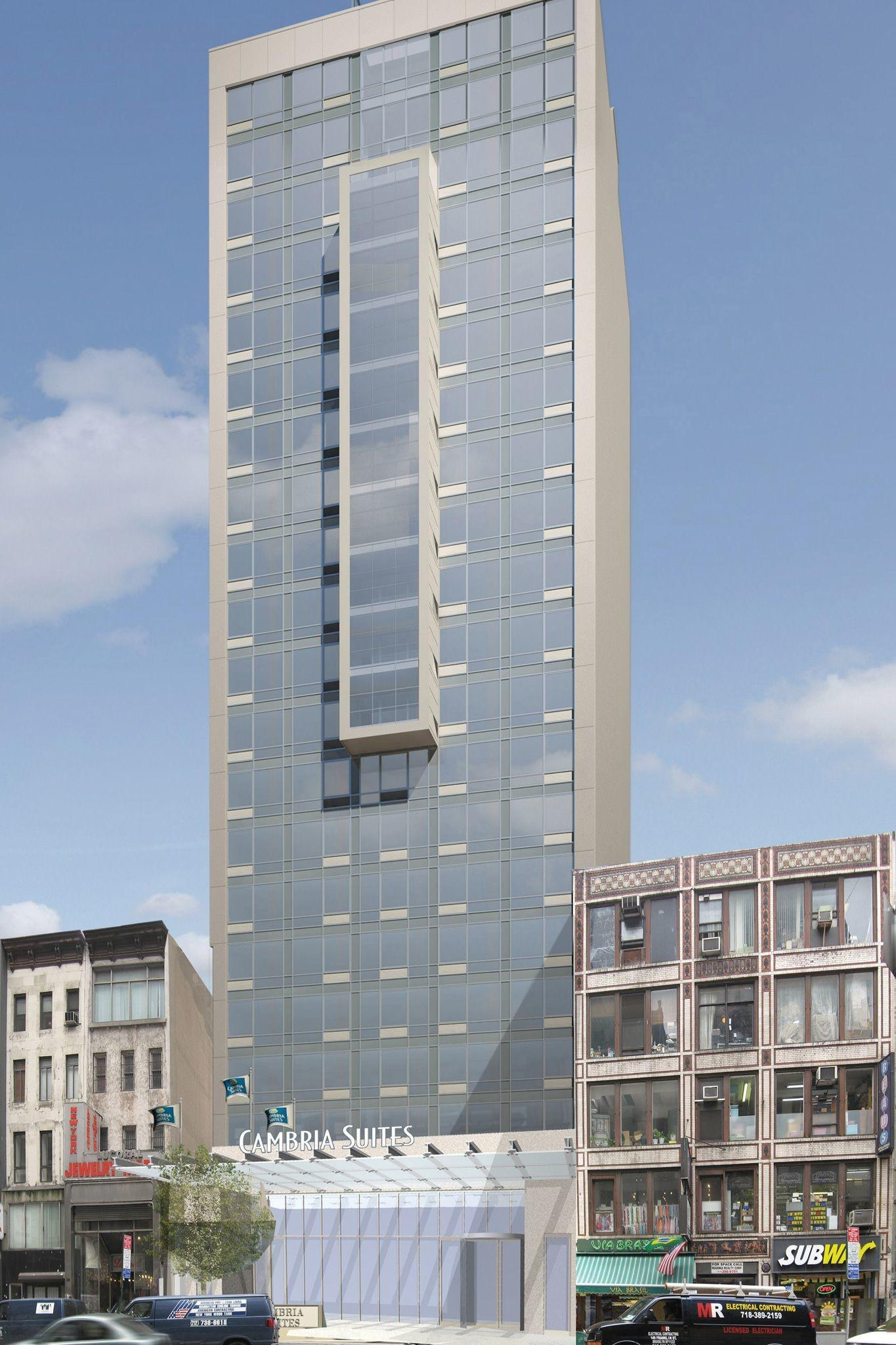 Choice Hotels Breaks Ground Nyc Outposts Crain