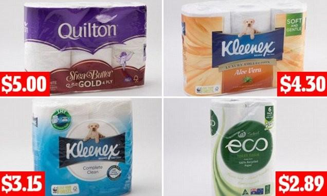 Choice Pits Top Toilet Paper Brands Against Each Other
