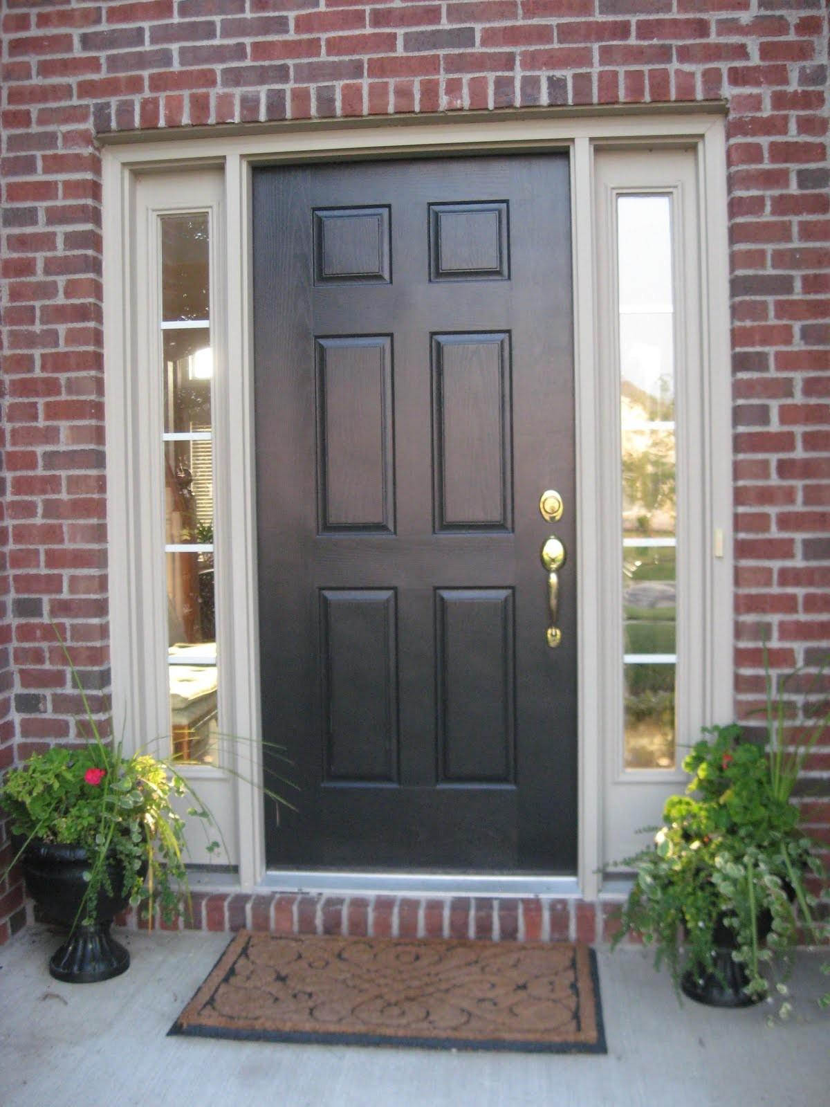 Clever Dark Front Doors That Will Admire You Awesome Pictures Decoratorist