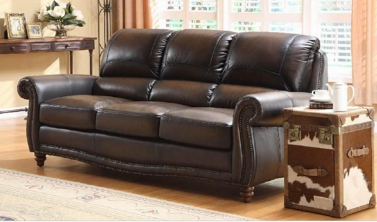 Choose Leather Sofa Cushions Brown