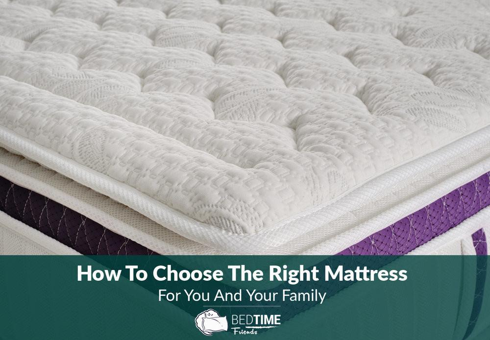Choose Right Mattress Your Family