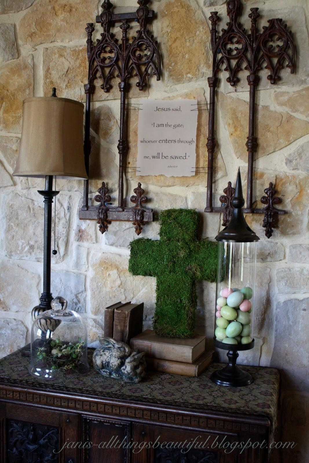 Christian Easter Table Decoration Photograph Michelle Paig