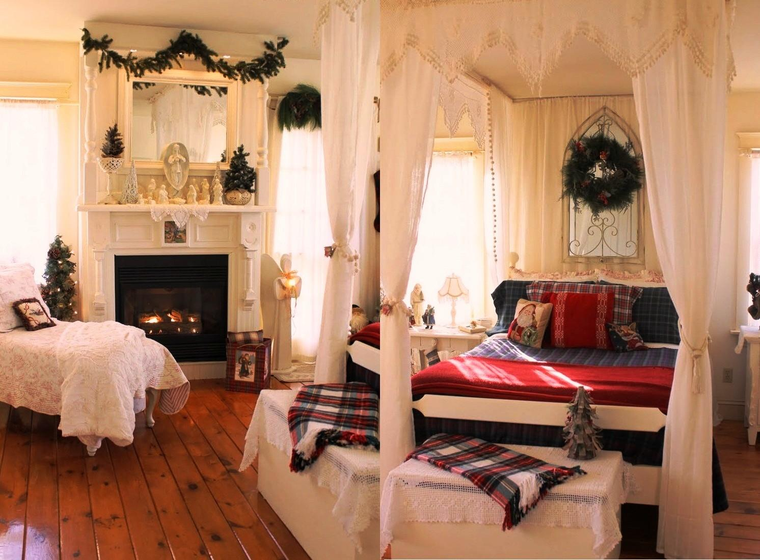 Christmas Bedroom Decorations Ideas