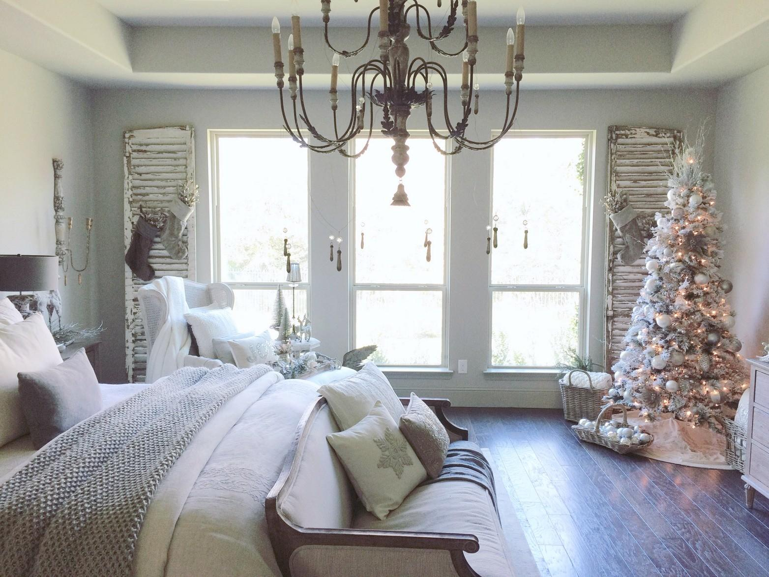 Christmas Bedroom Decorations Style Home Design Fresh