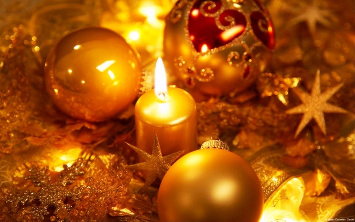Christmas Candle Cliparts