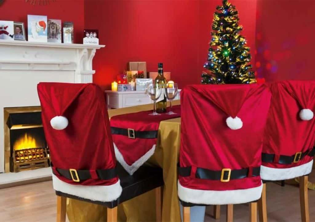 Christmas Chair Covers Decorative