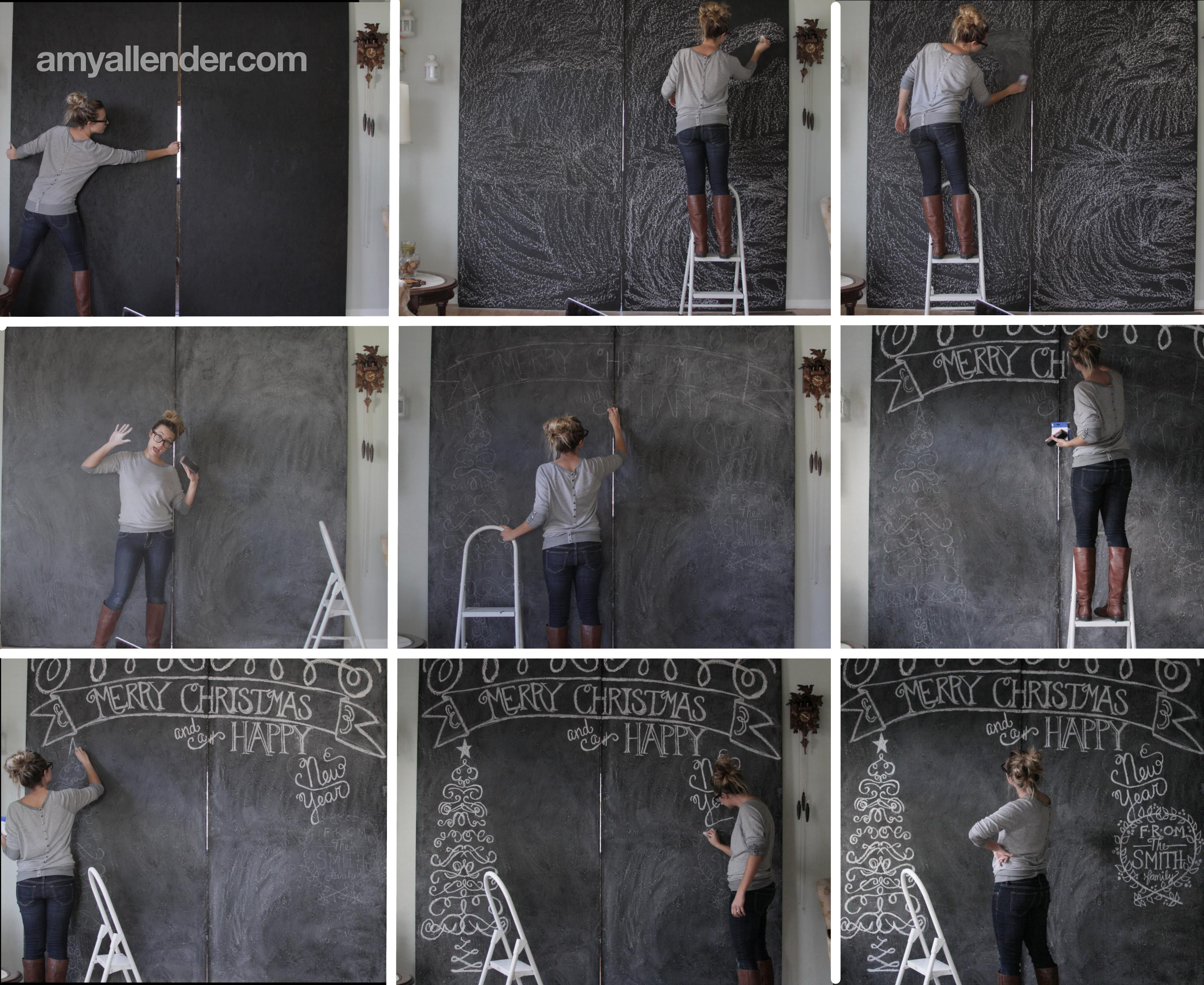 Christmas Chalkboard Sessions Amy Allender Dot